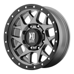 """XD Series: XD127 Bully"" Available in Matte Grey with Black Reinforcing Ring or  Satin Black w/ Reinforcing Ring"